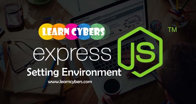 Easy Node JS Environment Settings for Express Framework