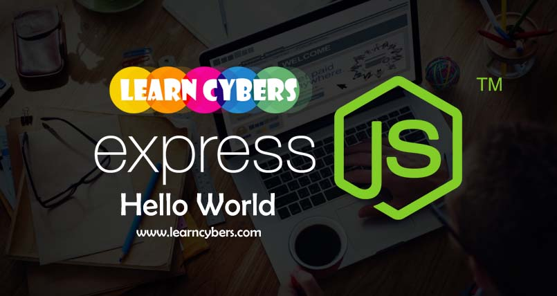 Hello World 1st Best Example for working of Express JS