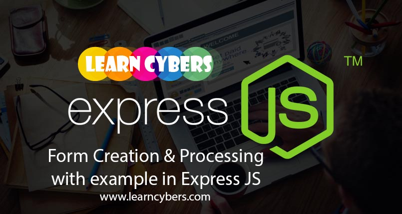 Create & Process Form with Login example in Express JS