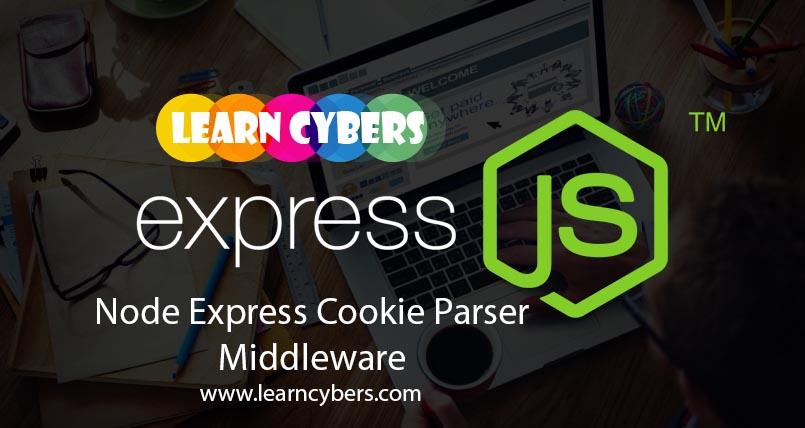 Cookies (cookie-parser) in Node Express Middleware