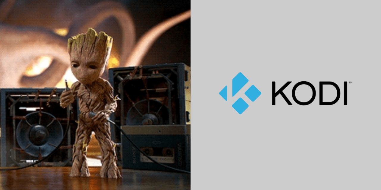 Best Kodi Addon for Kid Programmes: I am Groot