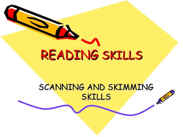 What are Reading Skills?