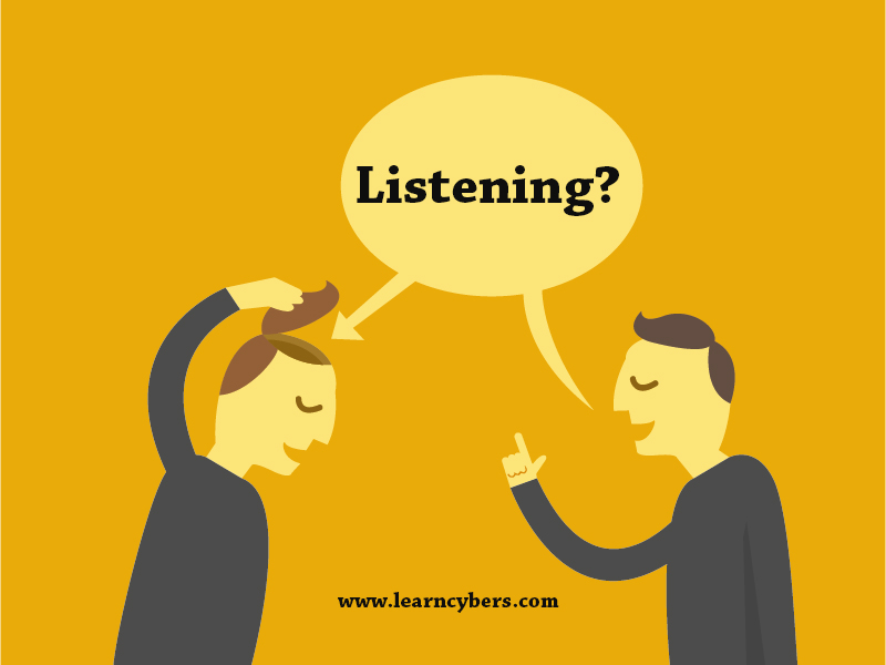 Define Listening. How listening is different from hearing?