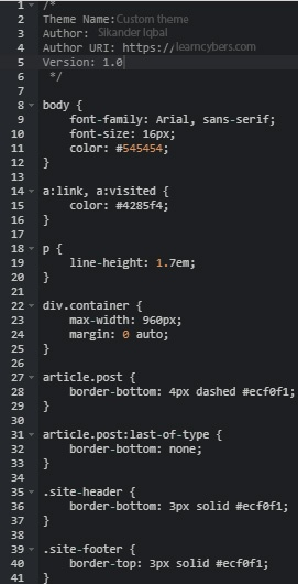 WordPress Theme Development Tutorials [All in 1 Best Series] 27