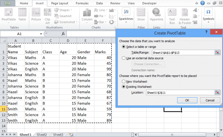 Excel Slicer: Easy Tricks to FILTER DATA [In Pivot Table]
