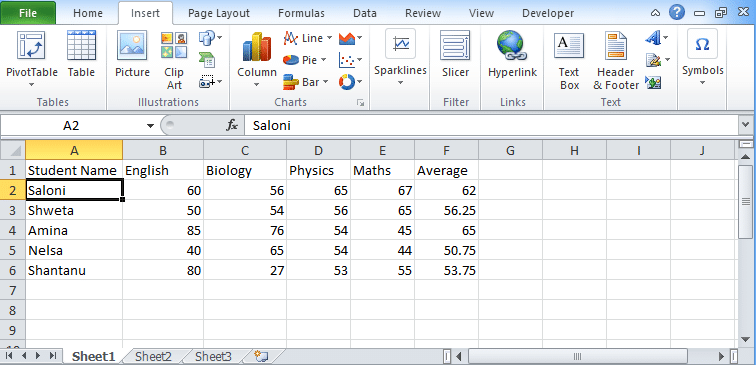 Excel Tables Tutorial for beginners – How to create table?