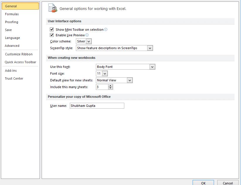 Excel-developer-tab