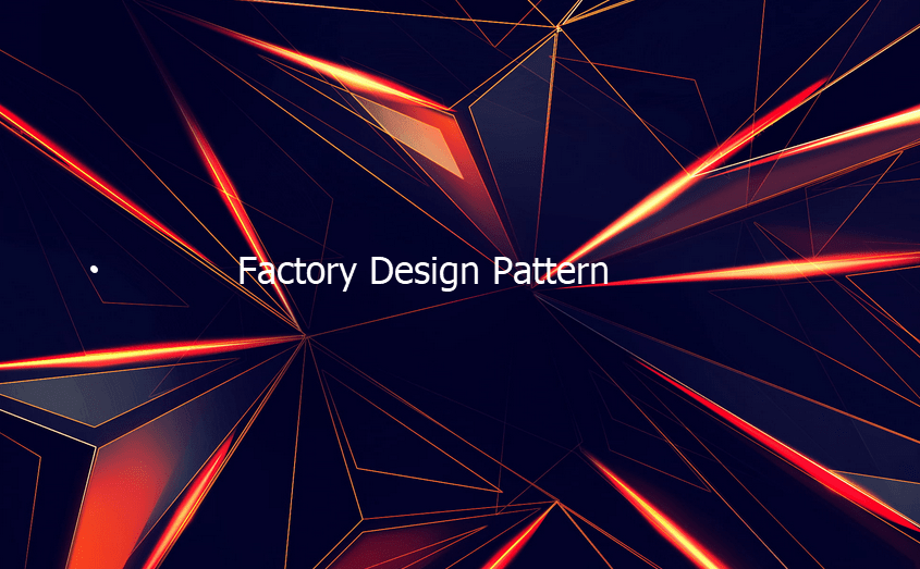 Factory Design Pattern with Examples in Java