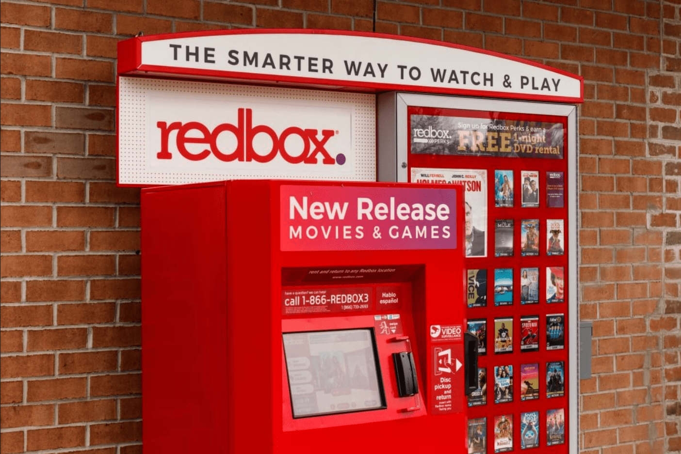 Redbox Free Live TV with Ads Supported