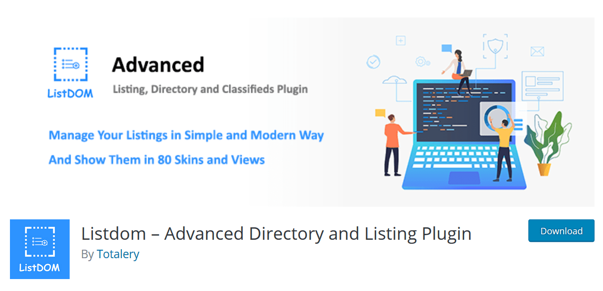Listdom – An Advanced Directory & Listing WordPress Plugin
