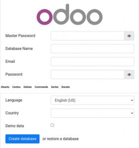 Install Odoo 14 on CentOS 8 1